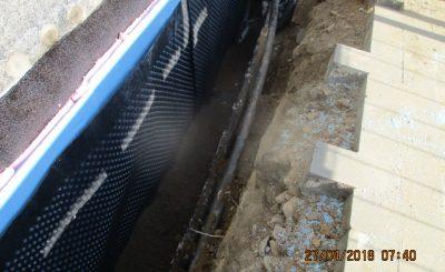 Hydroizolacja fundamentów budynku